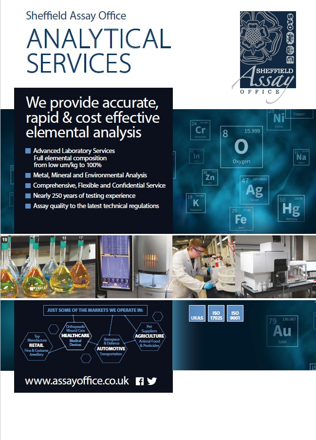 Sheffield Assay Office - Analytical Services