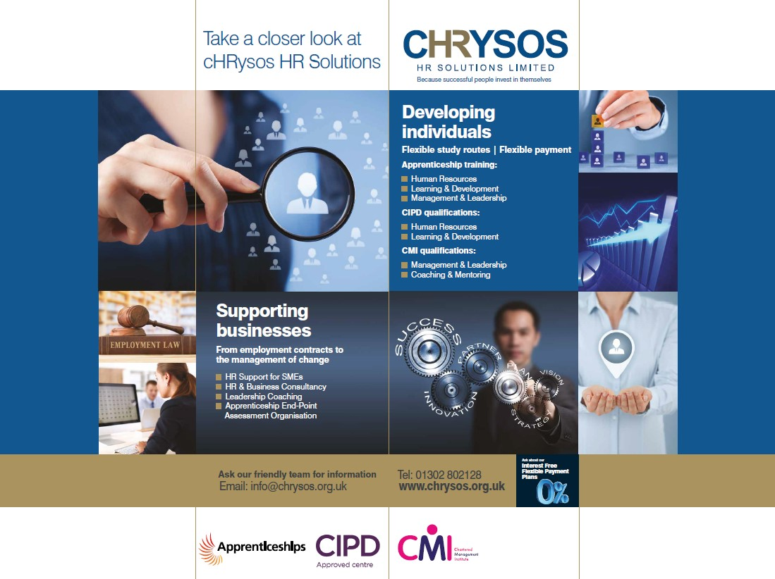cHRysos HR Solutions - Exhibition Stand